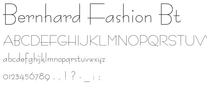 Bernhard fashion free download 21
